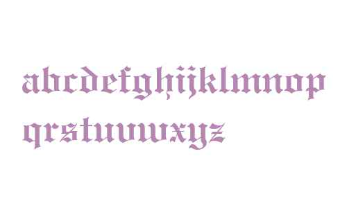 Engravers' Old English Bold BT V2