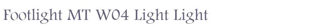 Footlight MT W04 Light