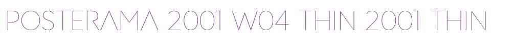 Posterama Fonts Free Download - OnlineWebFonts COM