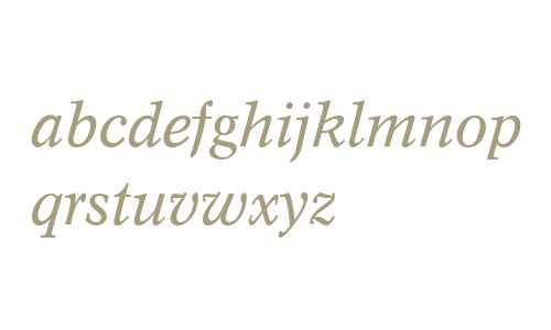 Concorde (R) Italic