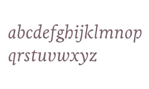 Livory W02 Regular Italic