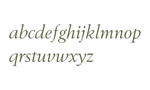 BerlingTOT W03 Italic