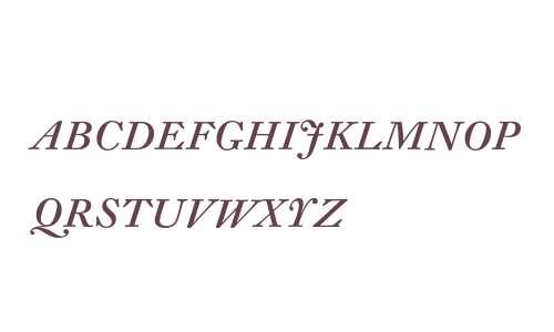 DTLFleischmannDCaps-Italic