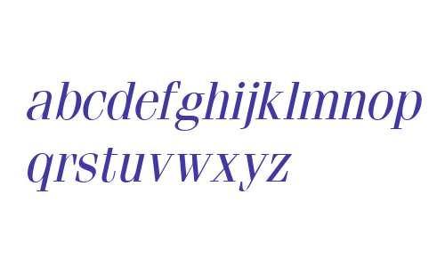 Fenice Italic