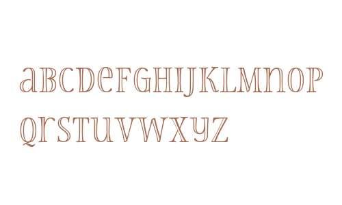 Storyteller Serif W00 Engraved