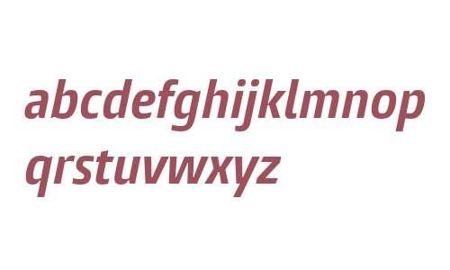 Burlingame W04 Cn Bold Italic