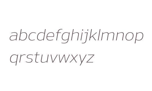 Nauman W00 Light Italic