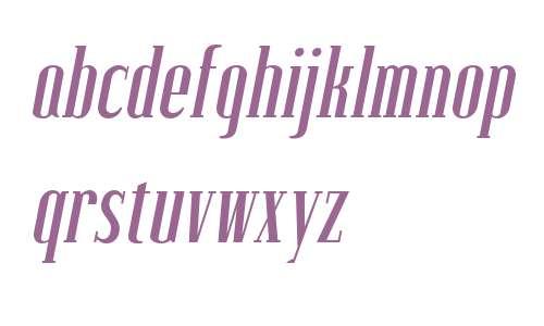 Lexave W01 Italic