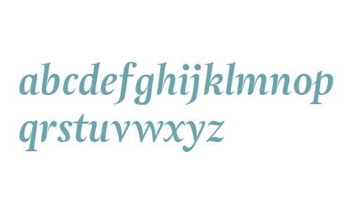 Atlantica Ligatures Bold Italic