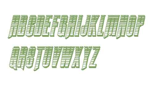 Butch & Sundance Chrome Italic