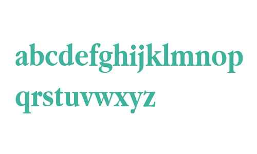 Apple Garamond Bold BT