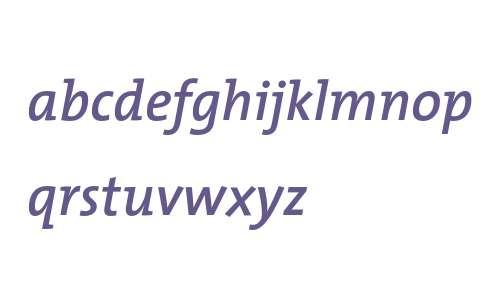 TheMix SemiBold Italic