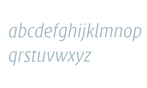 Klaus FY W04 Light Italic