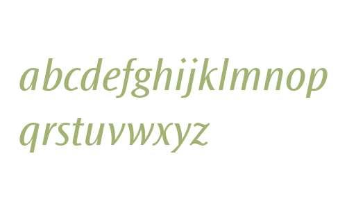 Ocean Sans MT W04 Book Italic