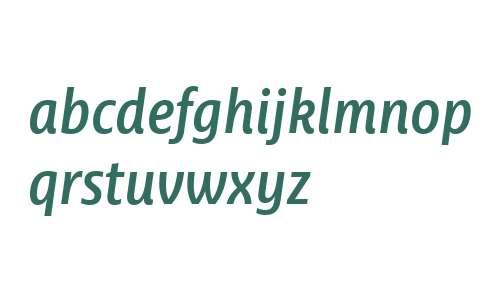 Ayita W03 SemiBold Italic