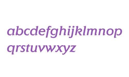 Elan ITC W04 Medium Italic