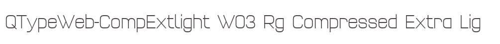 QTypeWeb-CompExtlight W03 Rg
