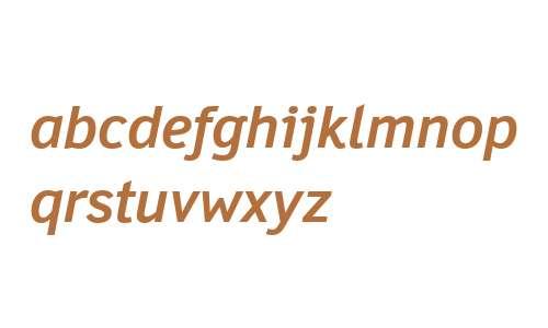 Felbridge W01 Bold Italic