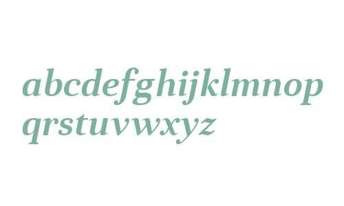 Anglecia Pro Text SemiBold Italic
