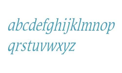 Mirror Thin Italic