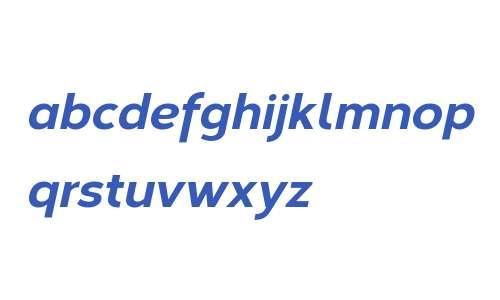 Corbert W00 ExtraBold Italic