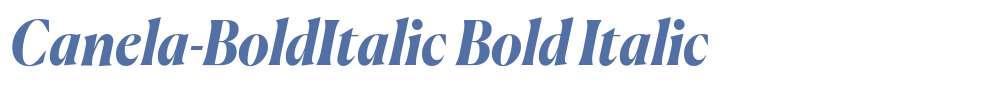 Canela-BoldItalic