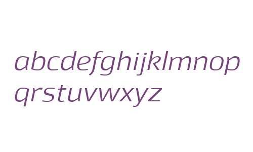 Moveo Sans Ext W00 Italic