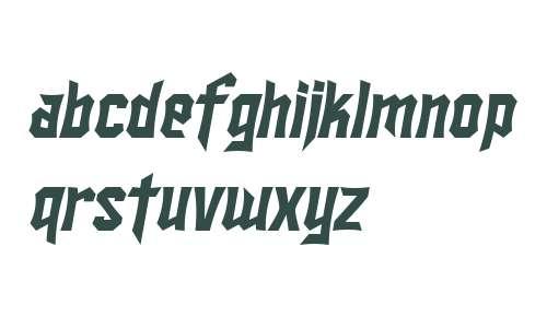 SF Ironsides Italic V2 V1