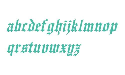 EnglishTowne-Normal Th Italic