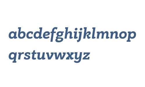 PF Bague Slab W01 Bold Italic