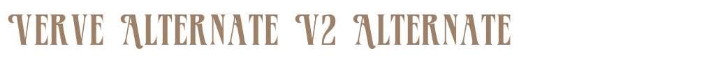 Verve Alternate V2