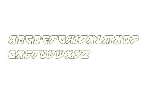 Manga Steel Outline OT W03 It