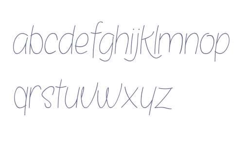 Bosanity Light Italic