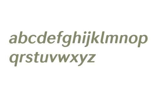 Seconda Soft W00 Bold Italic