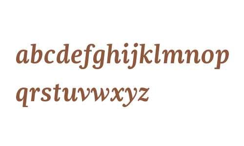 Dorica W01 SemiBold Italic