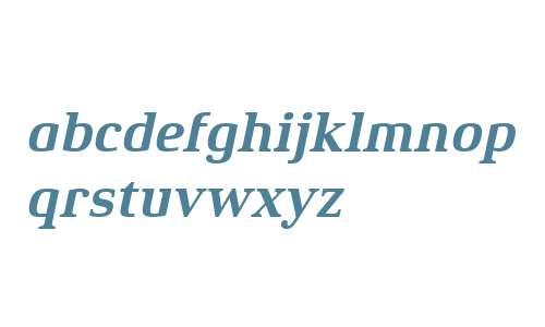 Xenois Serif W04 Bold Italic