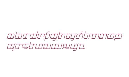 JakoneExtended Italic W00 Rg