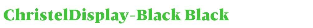 ChristelDisplay-Black