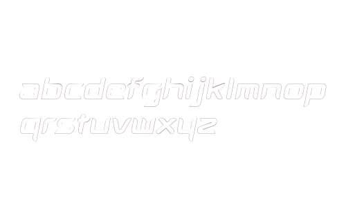 AuraOutline Oblique W00 Regular