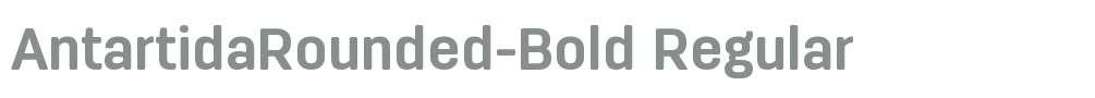 AntartidaRounded-Bold