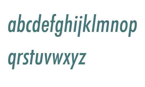 FuturaBT W01 Cond Medium It