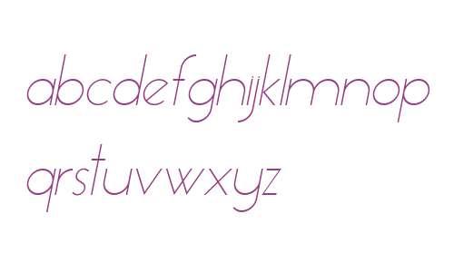 Essence Sans Light Italic V1