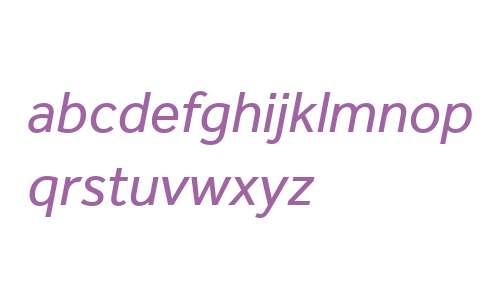 Effra W06 Italic