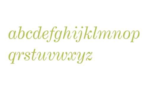 Century Expanded Italic