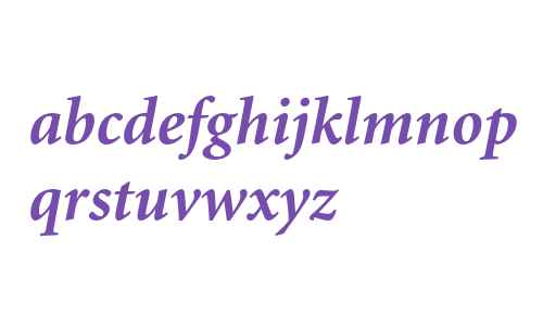 Minion Bold Italic