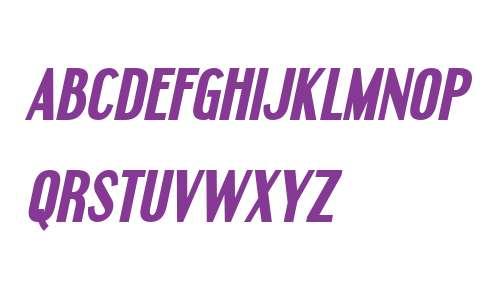 Engebrechtre Bold Italic V2