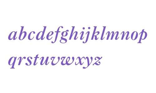 Caslon Bold BT W08 Italic