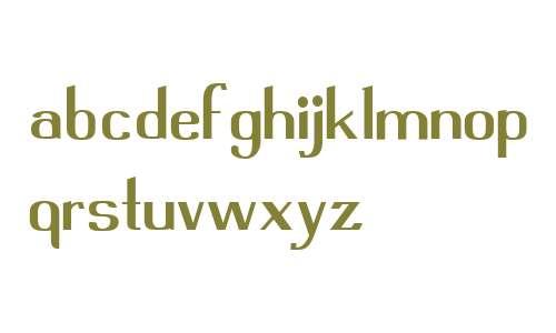 Fleete Sans W01 Regular