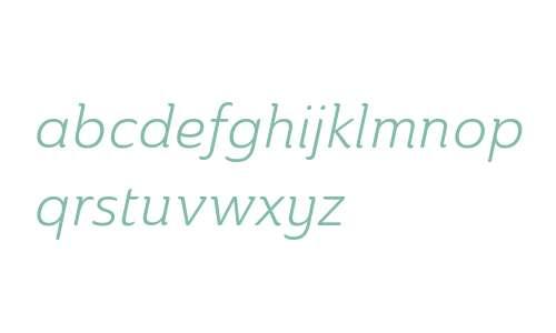Ainslie W01 Norm Book Italic V1
