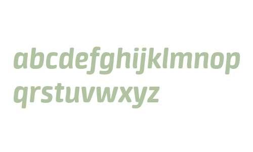Neuron W03 Extra Bold Italic